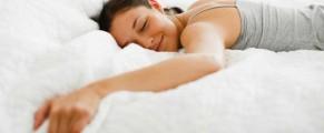 HappyWomanSleeping